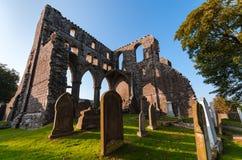 Dundrennan修道院,苏格兰 库存照片