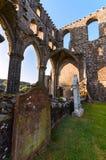 Dundrennan修道院,苏格兰 免版税图库摄影