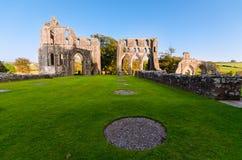 Dundrennan修道院,苏格兰 免版税库存照片