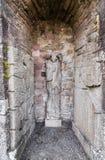 Dundrennan修道院,苏格兰 库存图片