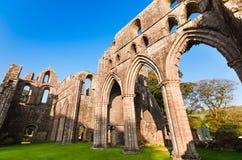 Dundrennan abbotskloster, Skottland Royaltyfria Bilder