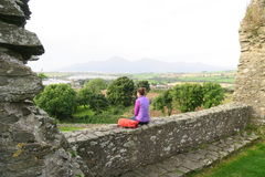 Dundrum Castle Royalty Free Stock Images