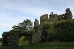 Dundrum slott Arkivfoton