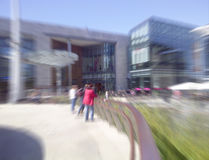 Dundrum Town Centre. Shopping Mall. Defocused blurred background Royalty Free Stock Photo