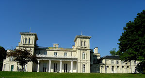Dundurn Castle. The back frontage of Dundurn Castle in Hamilton. The castle was completed in 1835 Royalty Free Stock Images