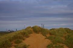 Dune à l'industrie Photo stock