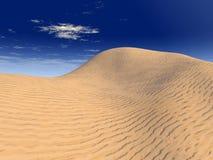 Dune. Sand dunes landscape - digital artwork Stock Photography