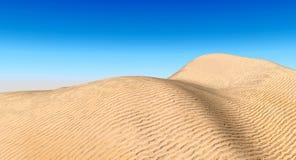 Dune. Sand dunes landscape - digital artwork Royalty Free Stock Photos
