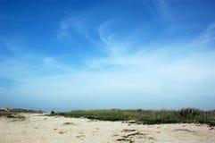 Dune. Sand & Sky Stock Photo