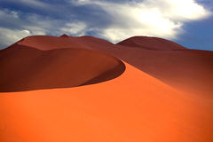 Dune. Sand dune, from Namib desert in Namibia Royalty Free Stock Image