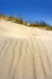 Dune. Sand texture at the beach stock photo