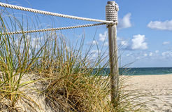 Dune alla spiaggia Immagini Stock Libere da Diritti