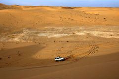 Dune bashing Stock Photography