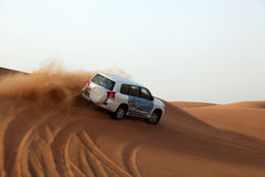 Dune bashing in Dubai Royalty Free Stock Image