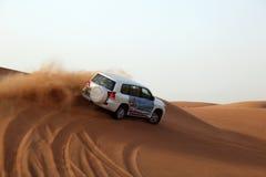 Dune bashing in Dubai Royalty Free Stock Image