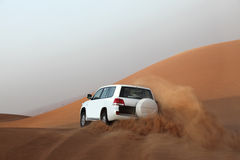 Dune bashing in Dubai Royalty Free Stock Photo