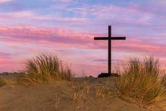 Dune Black Cross Stock Photo