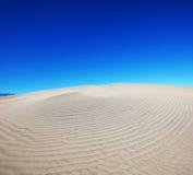 Dune blanche Photographie stock libre de droits