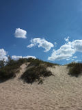 Dune and blue sky Royalty Free Stock Photos