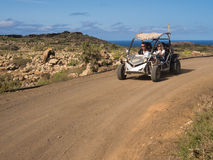 Dune Buggy Adventure, Canary Islands Royalty Free Stock Photos