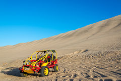 Dune Buggy in Huacachina, Peru Stock Photos