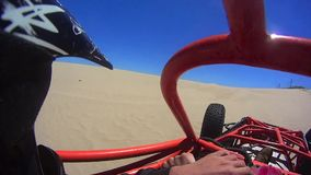 Dune Buggy POV 9 Pismo Beach California. 