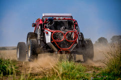 Dune buggy racing Royalty Free Stock Images