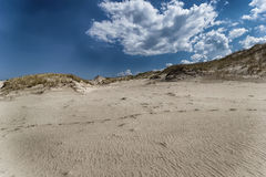 Dune commoventi Fotografie Stock