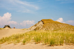 Dune in Curonian Spit Royalty Free Stock Images