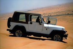 Dune d'amusement pilotant à Dubaï   Photographie stock libre de droits
