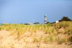 Dune dans le nde de ¼ de WarnemÃ, Allemagne Image stock