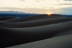 Dune de désert images stock
