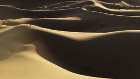Dune de désert du Sahara au Maroc Photo libre de droits