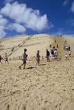 Dune de Pyla image libre de droits