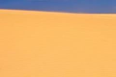 Dune de sable. Photo stock