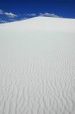 Dune de sable blanche Photo stock