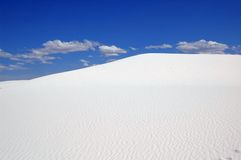 Dune de sable blanche Images stock
