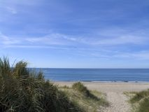 Dune de sable de croisement de chemin Photographie stock libre de droits