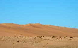 Dune de sable de désert Image libre de droits