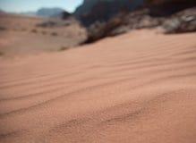 Dune de sable de désert Photographie stock