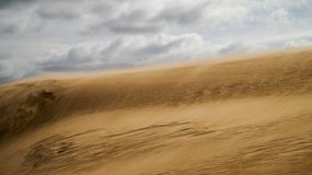 Dune de sable en Uruguay photo libre de droits