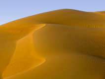 Dune de sable - Moyen-Orient Photos libres de droits