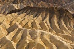 Dune Death Valley dell'argilla Immagine Stock