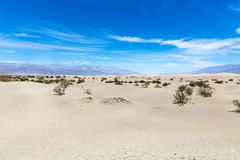 Dune in Death Valley National Park, California, Nevada, USA stock images