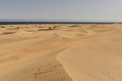 Dune dei maspalomas Fotografia Stock Libera da Diritti