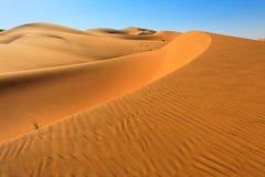 Dune del deserto Immagini Stock Libere da Diritti