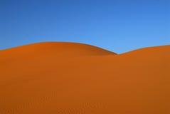 Dune del deserto del Sahara Immagini Stock Libere da Diritti