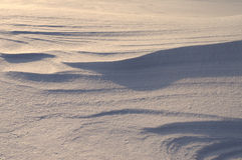 Dune della neve Fotografie Stock