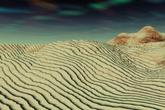 Dune della sabbia Immagini Stock Libere da Diritti