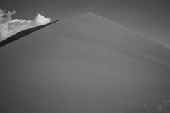 Dune 45, Desert Landscape, Sossusvlei, Namibia. Dune 45, Desert Landscape in Sossusvlei, Namibia Stock Photos